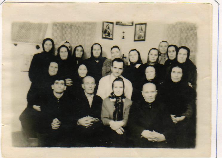 la comunidad católica clandestina